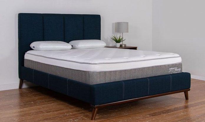 nature's sleep 12 gel memory foam mattress reviews