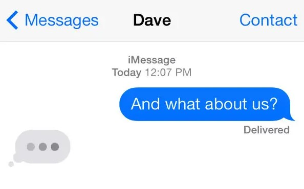 iMessage Bubble