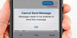 iMessage Needs To Be Enabled To Send This Message