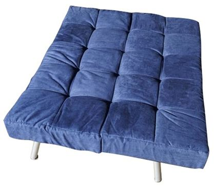 College Cozy Sofa - Mini Futon – Navy